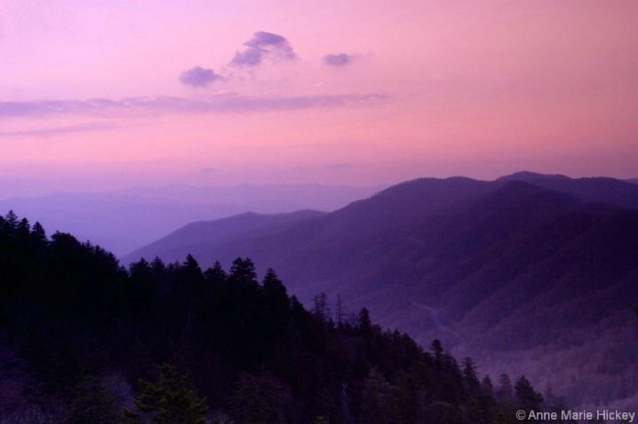 Morton's Overlook Sunset