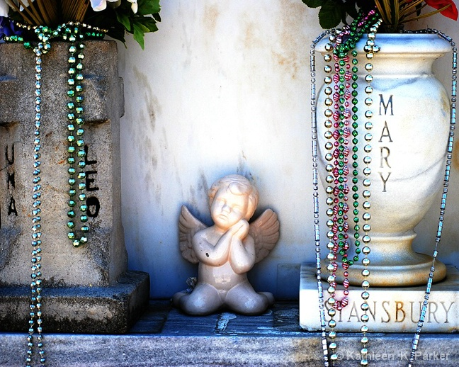 Angel Amid the Urns, New Orleans