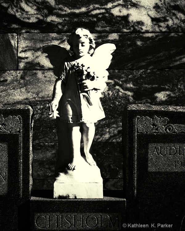 Angel on a Tomb, New Orleans