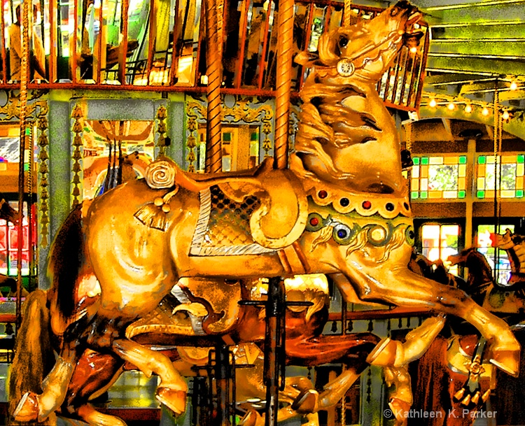 The Gilded Horse