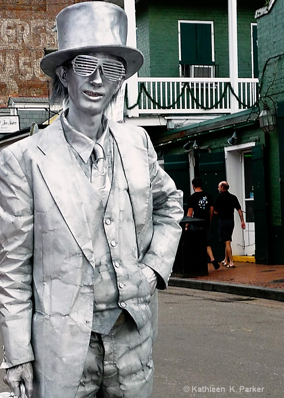 Silver Man 3, Mime in French Quarter