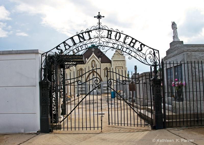 Entrance to St. Roch I