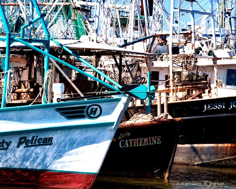 Gulfport Fishing Boats