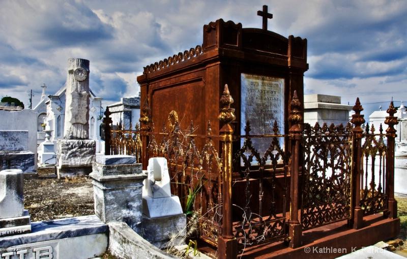 Iron Tomb, St. Patrick's 2 Cemetery