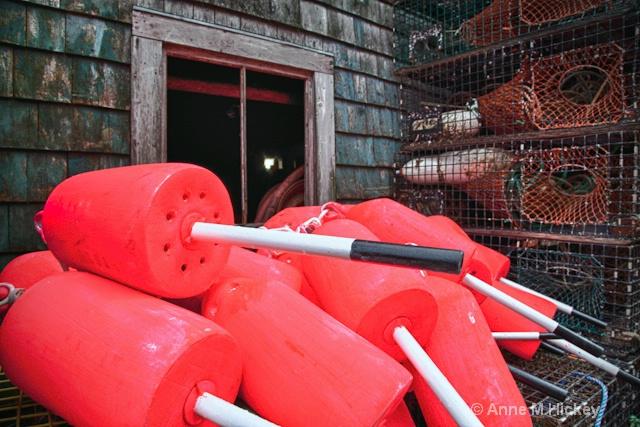Pink Buoys