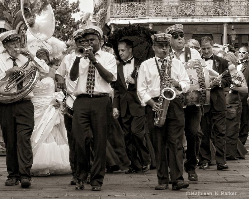 "Jazz Wedding ""Second Line"" Procession, New"