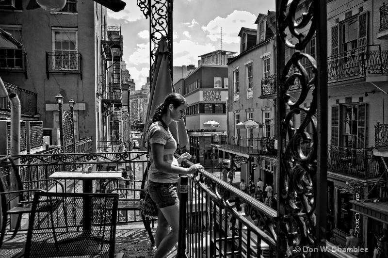 Bourbon Street Moment
