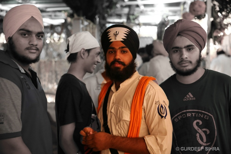 VISIT TO GURDWARA