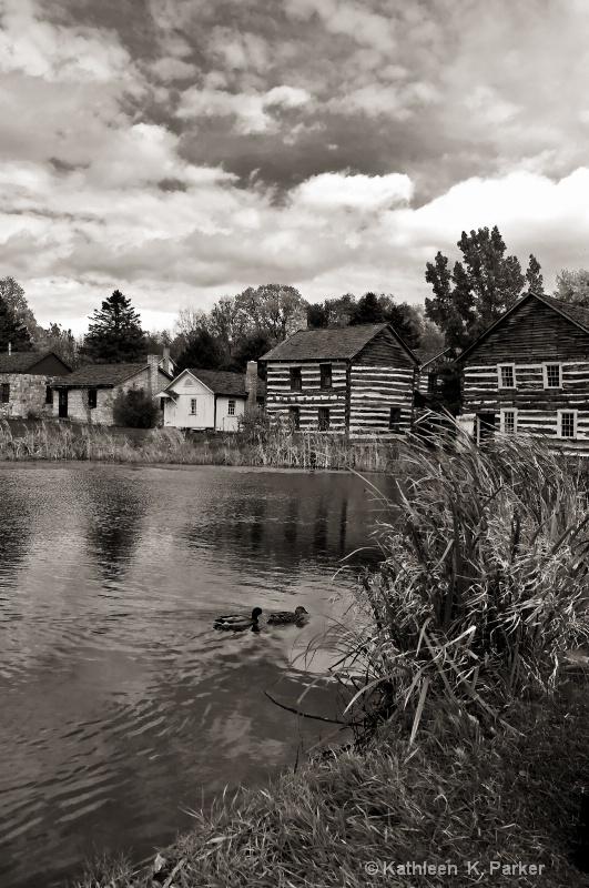 Old Bedford Village, PA_Monochrome
