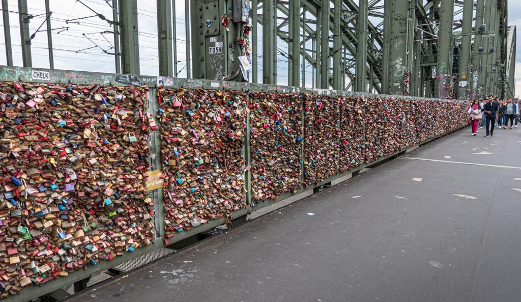 Marriage Locks on the Bridge