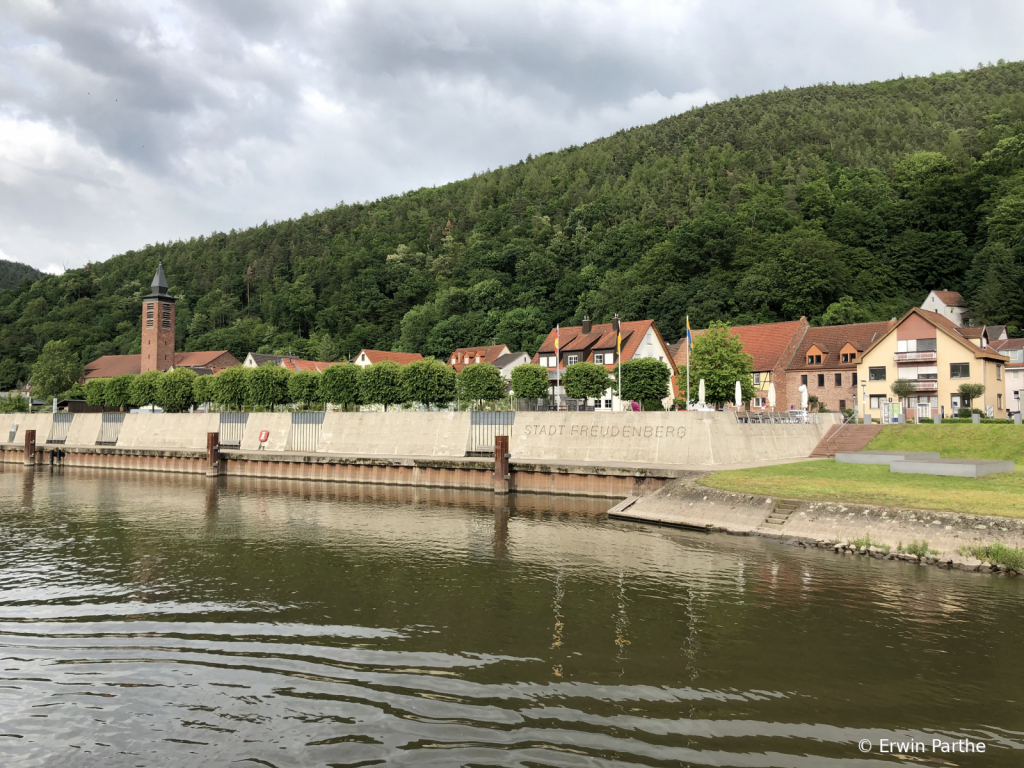 On the way to Miltenberg
