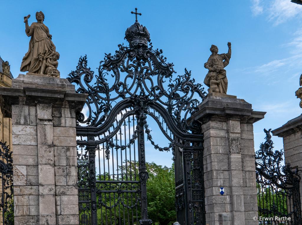 Gate in the garden