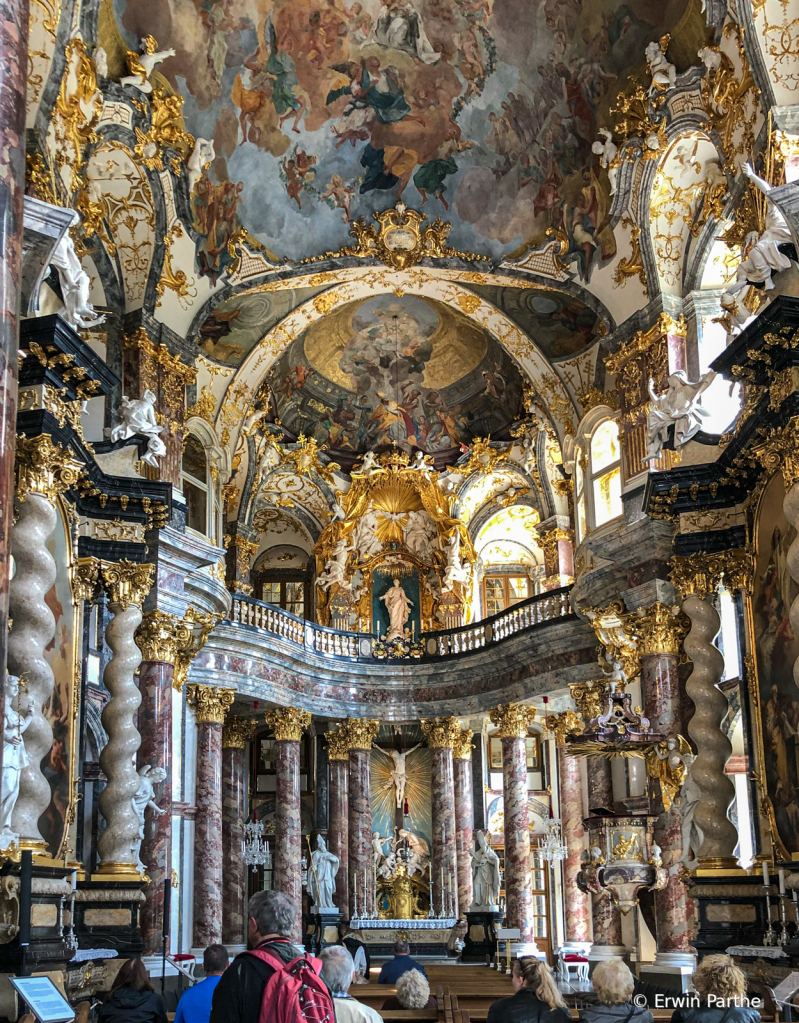 Interior of the Cathedral...over the top!