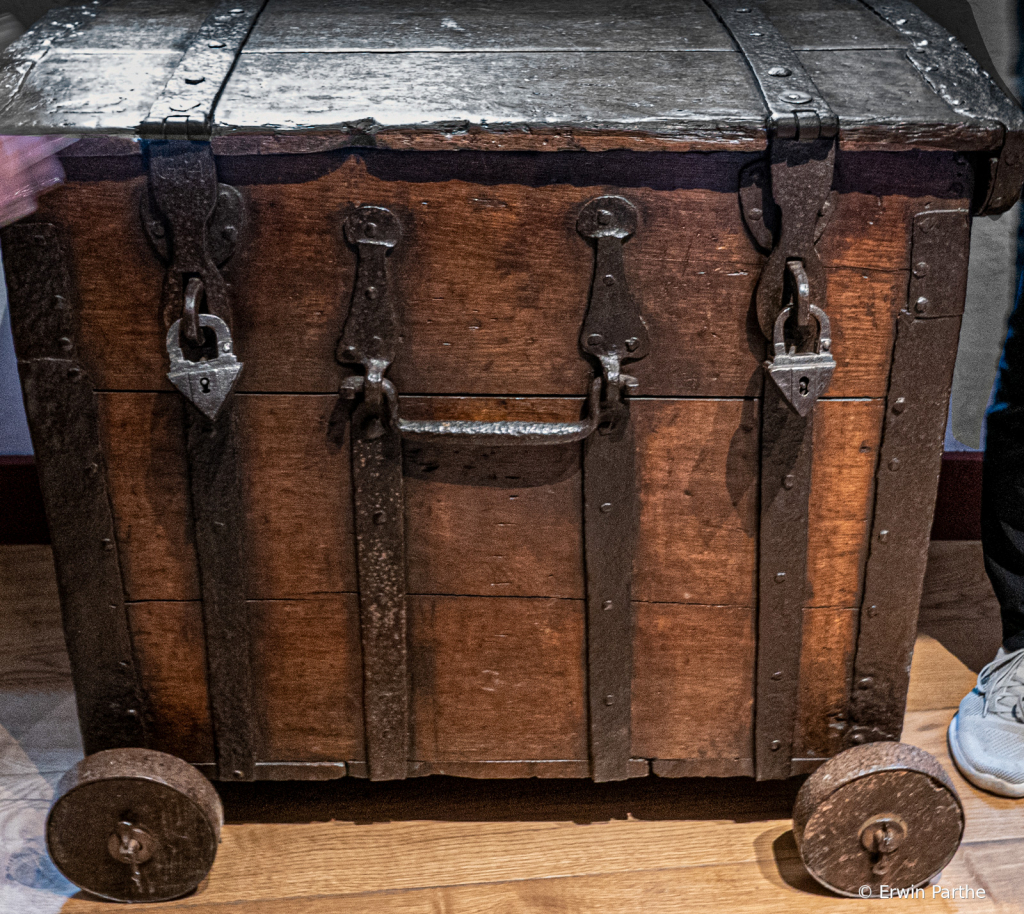 Original chest with locks