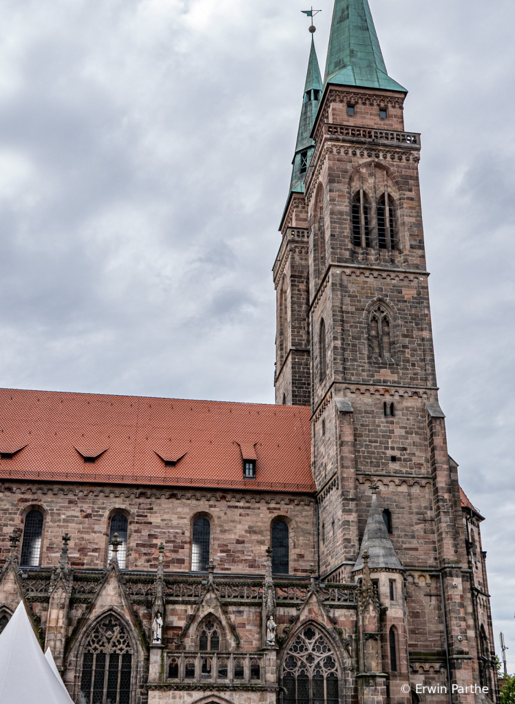 Church of St.Lawrence, a 15th century building.