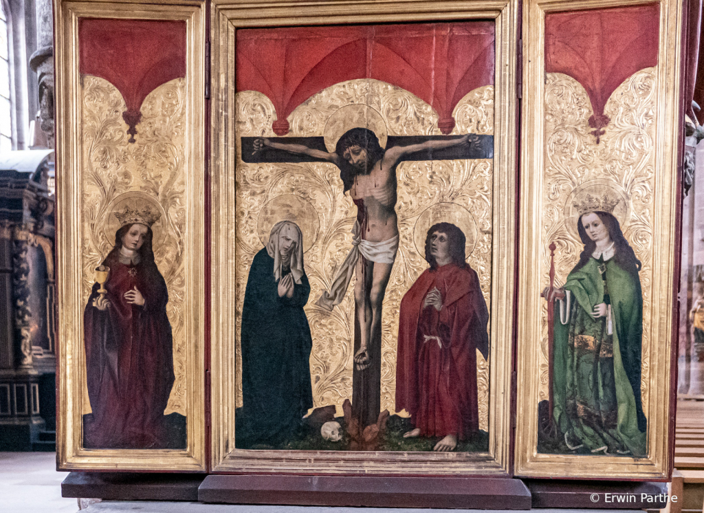 famous Artwork in the church.