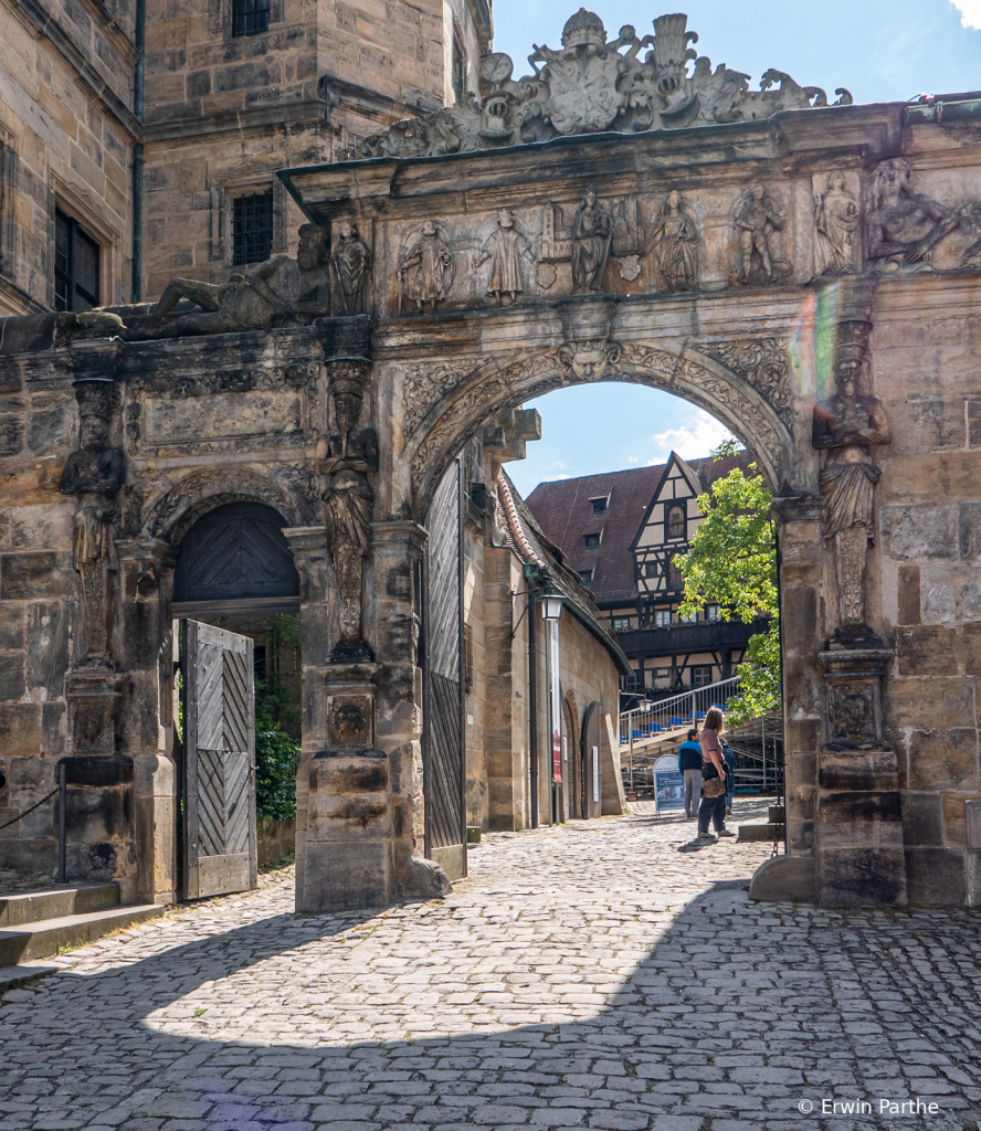 Old entrances of the Abby