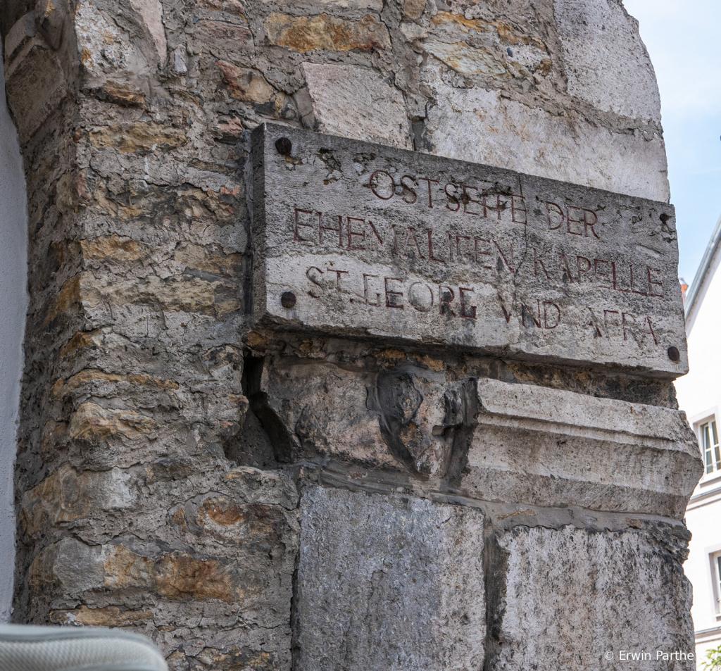 remanence of romans buildings