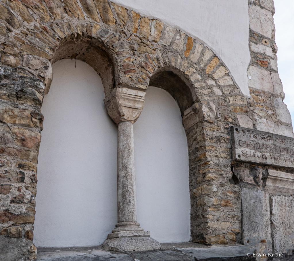 Original Romans wall