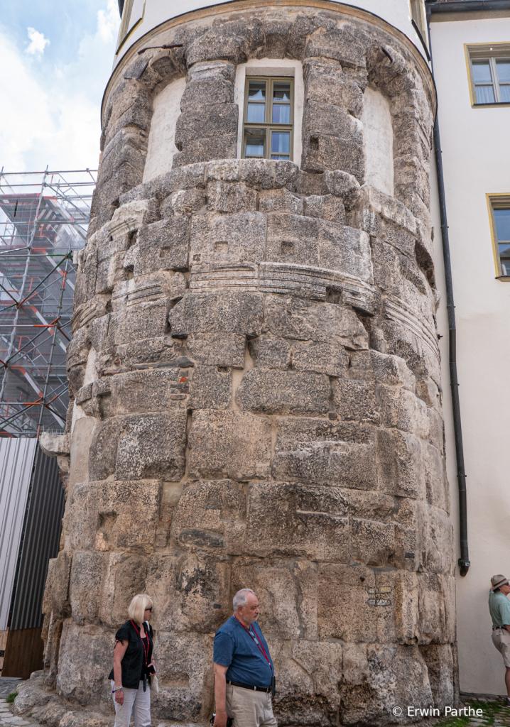 Original Roman tower.