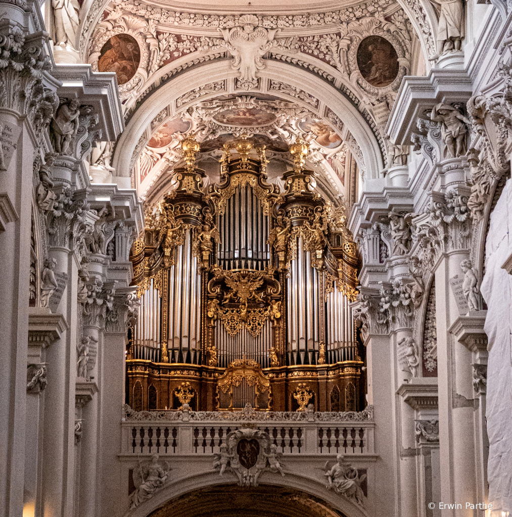 Pipe Organ. the largest in Europe