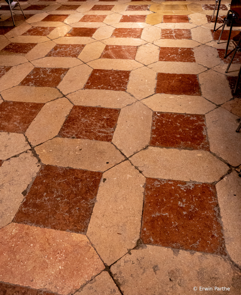 Floor in the cathedral. very interesting