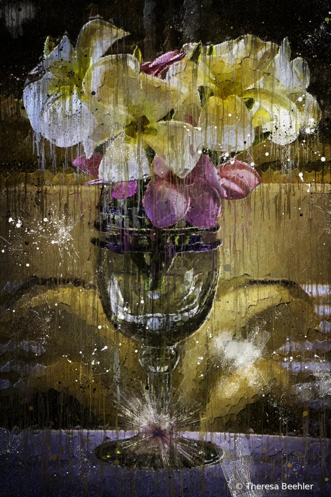 Mazatlan Flowers Vase - Artistic Flare