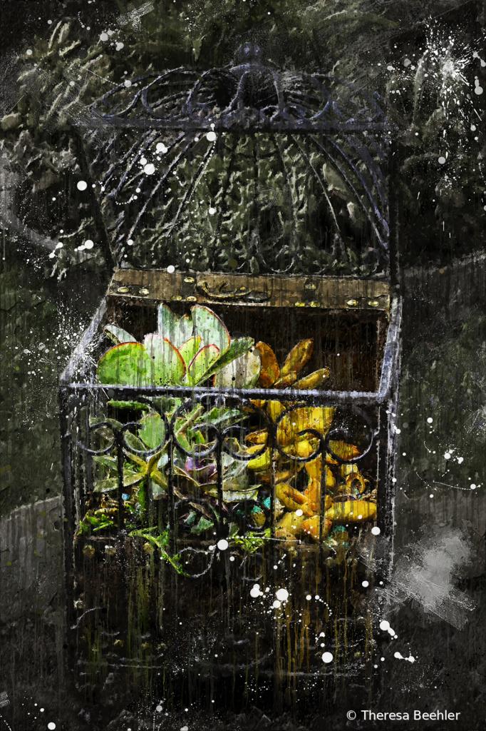 Succulent Treasure Chest - Artistic Flare