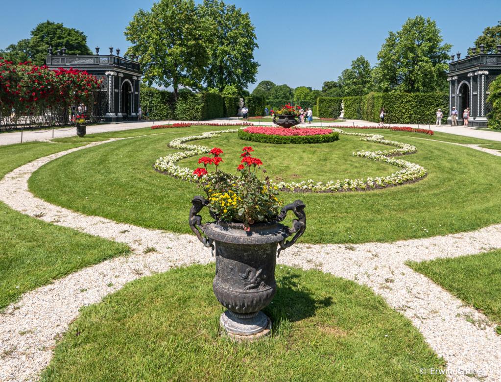 Beautiful Gardens at the palace