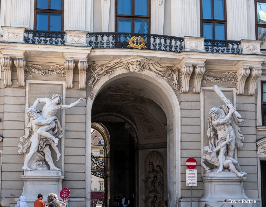 Entrances trough buildings.