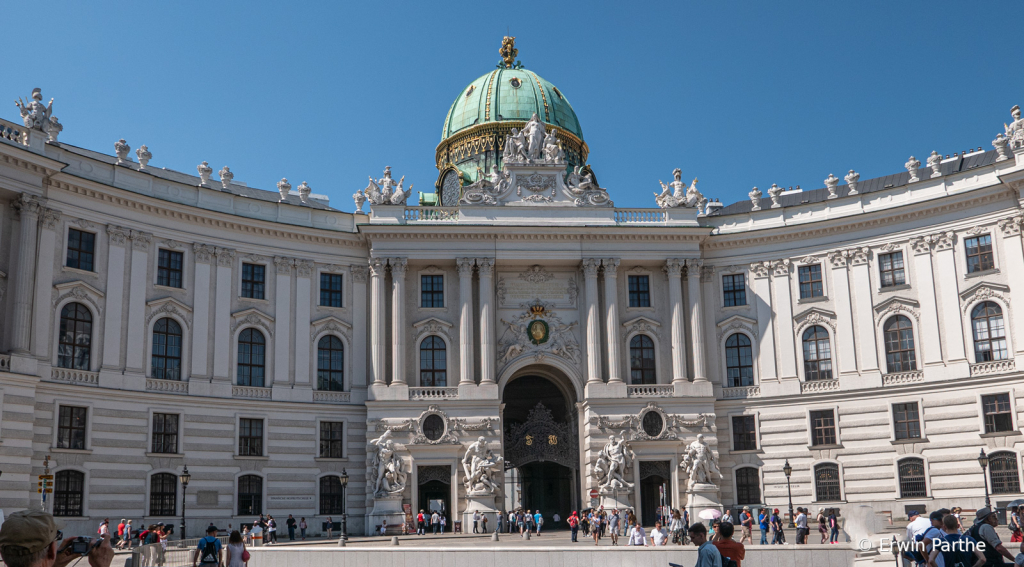 View of Hofburg Palace