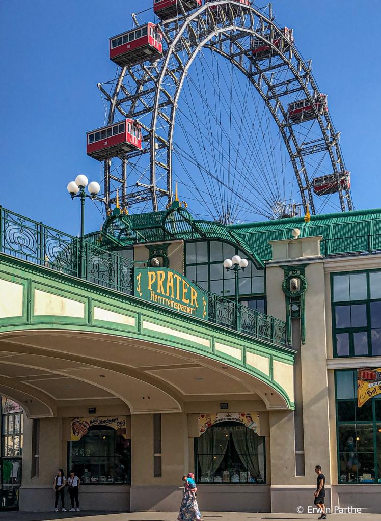 The Prater, the famous amusement park.