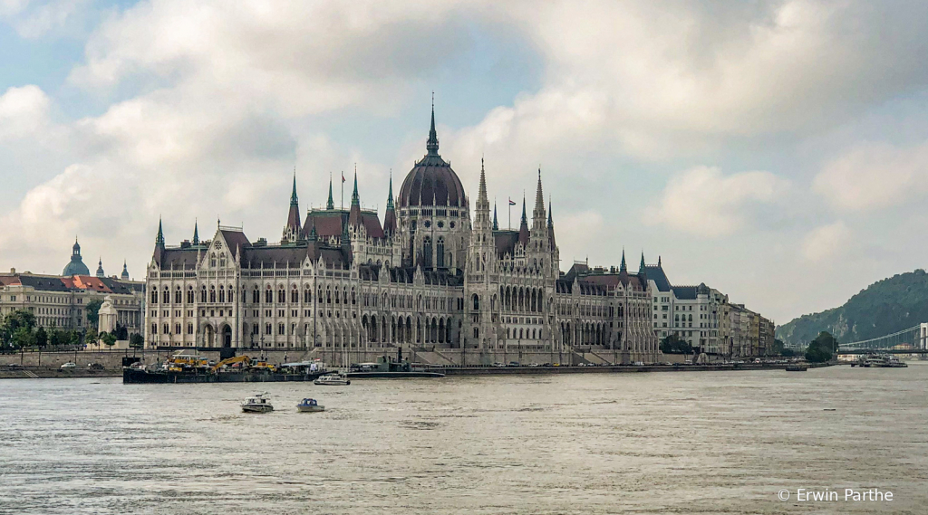 view of the Hungarian Parliament Building