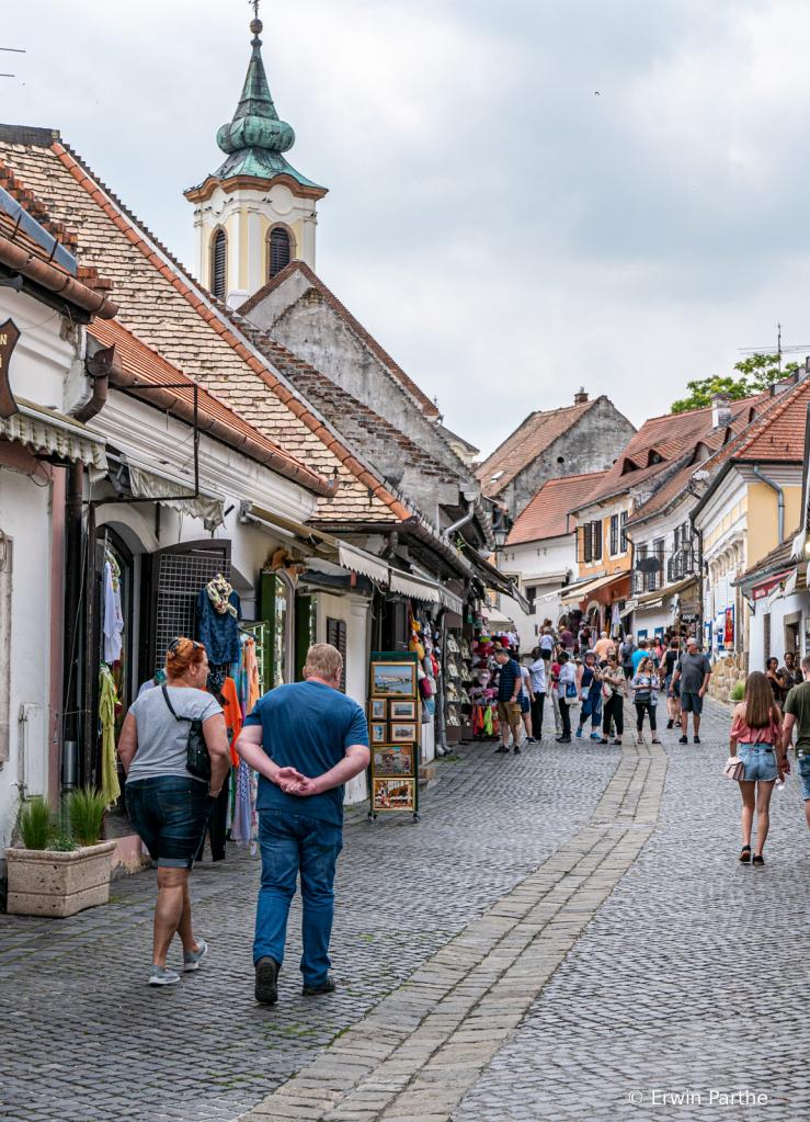 arriving in Szentendre