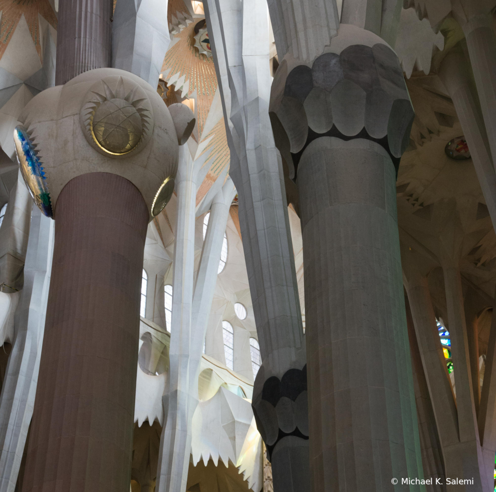 Sagrada Familia Pillars
