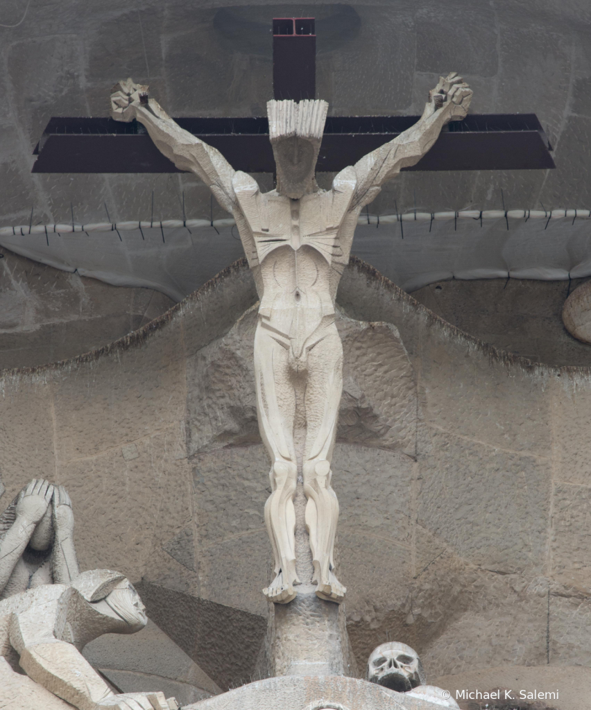 Sagrada Familia Crucifix