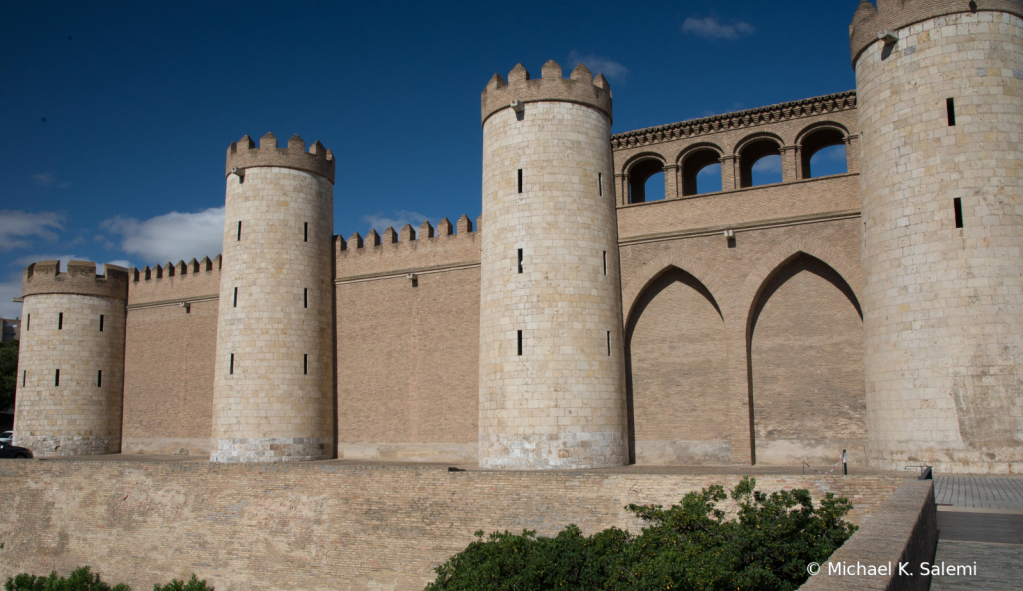 Aljaferia Palace in Zaragoza