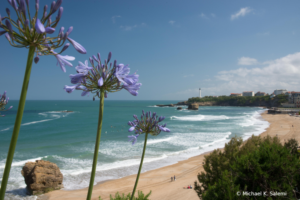 Beach at Biarritz