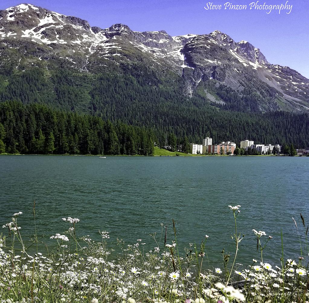 Summer at Lake Moritz, Switzerland
