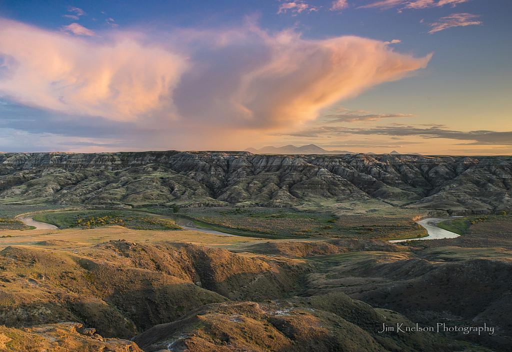 Milk River Valley, Alberta
