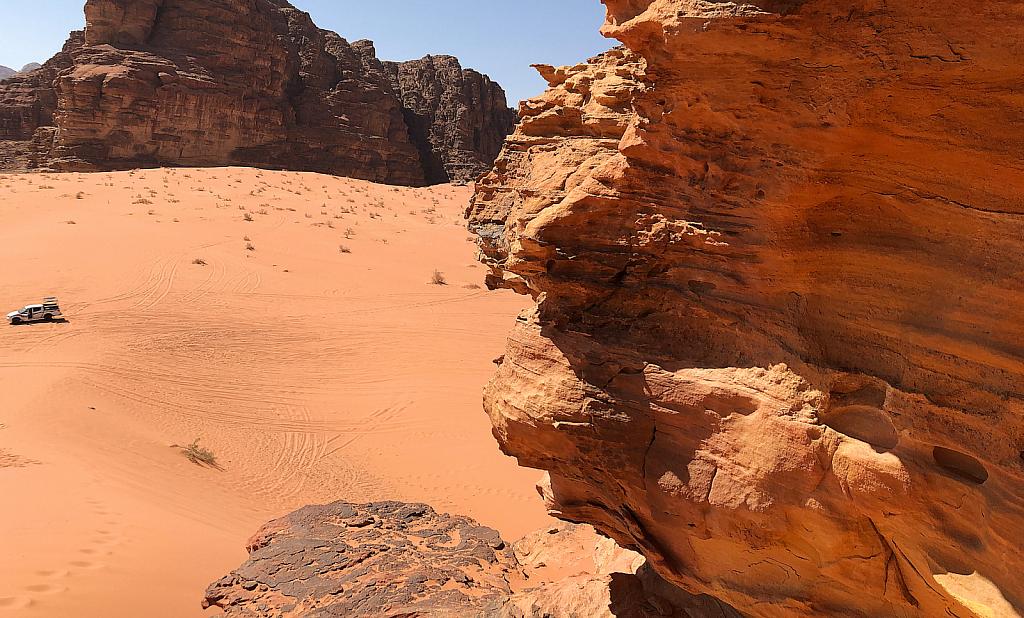 Wadi Rum sands