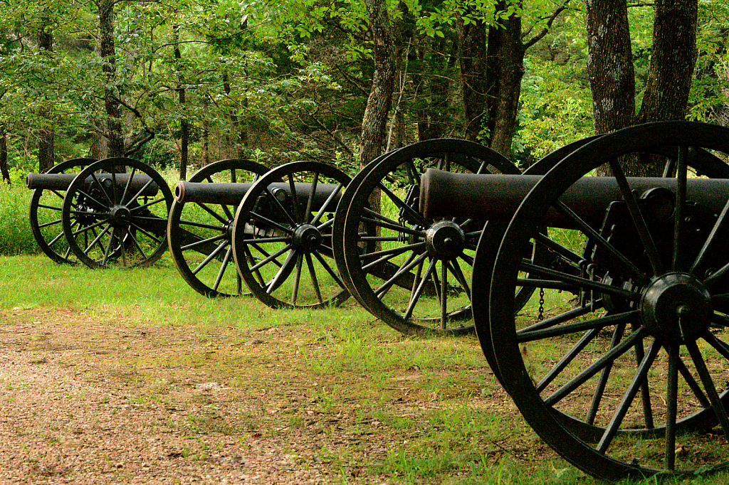Cannons fired March 1862
