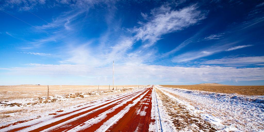 Land of many horizons North Dakota badlands