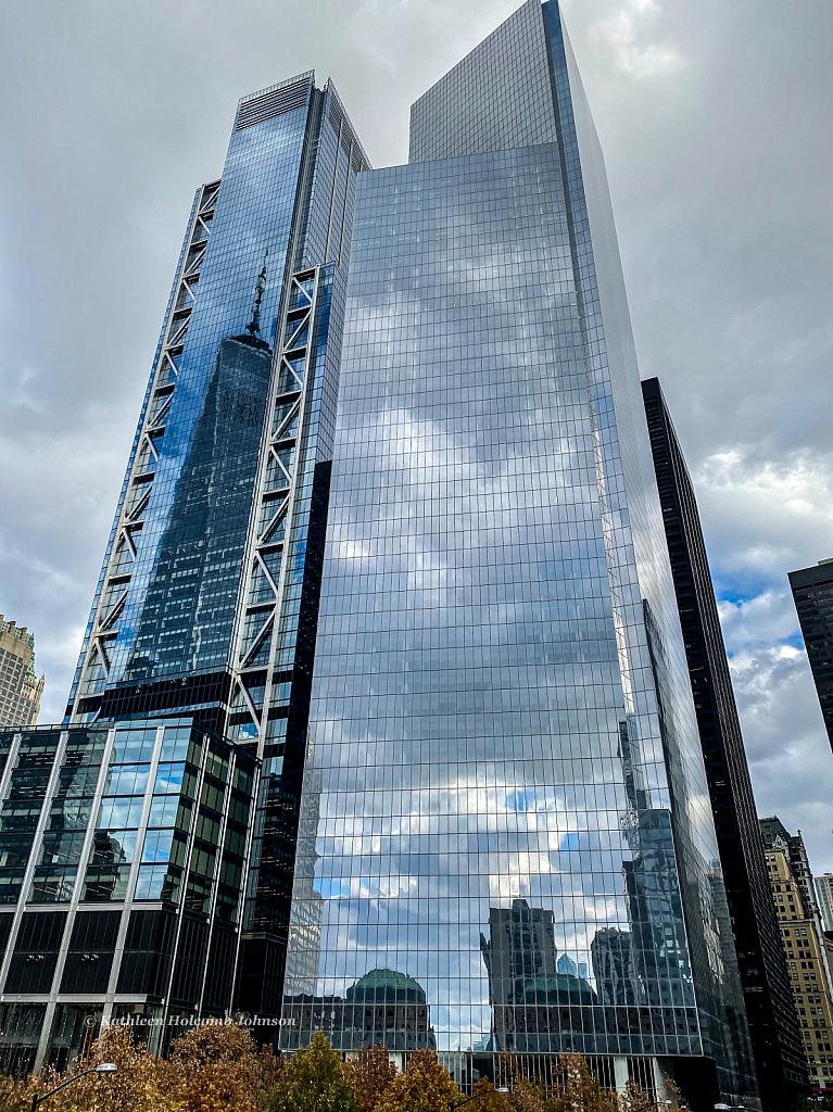 Buildings next to 911 Memorial!
