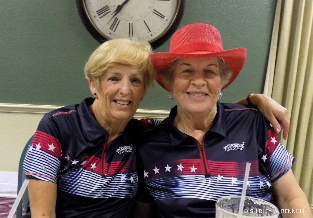 Linda Dorsey and Peg Gannon 2nd Place Winners
