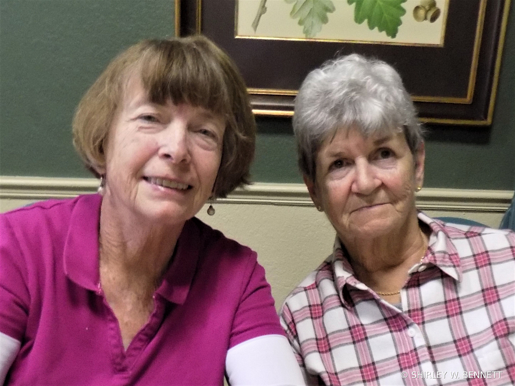 Mary Lee Kelso and Julia Jennings