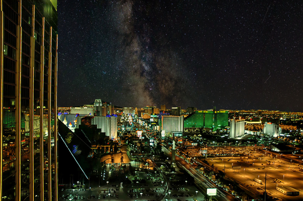 Clear Night In Vegas