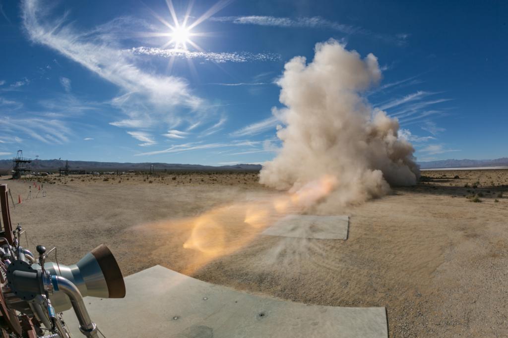 LAE Hot Fire Test @ Polaris