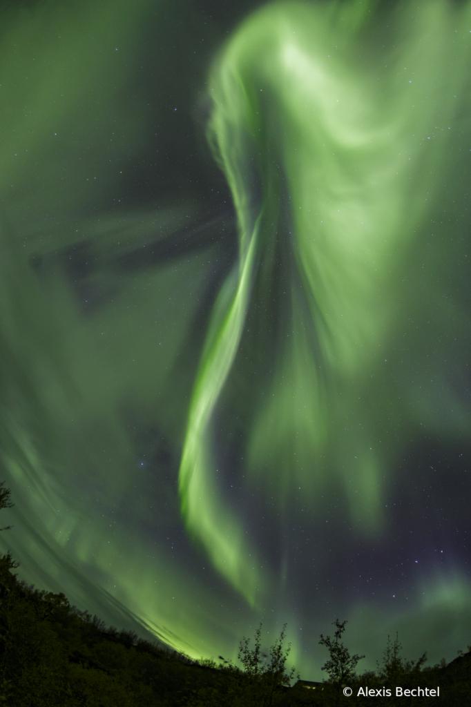 Dimmiborgir Aurora