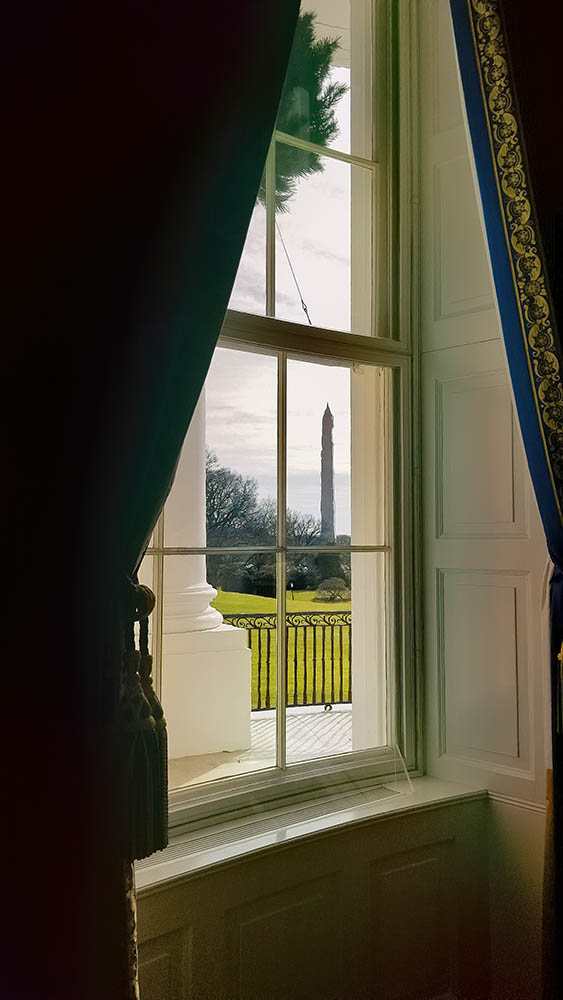 Washington Monument From the White House